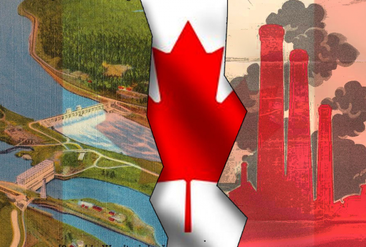 """Canada divided into clean energy """"haves"""" and """"have nots"""""""