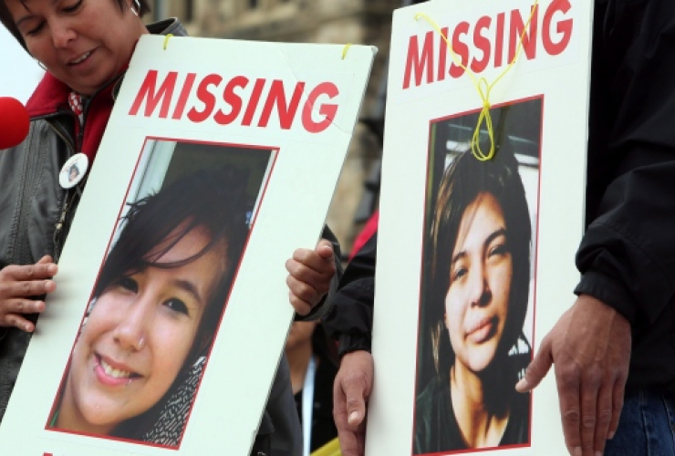Missing and murdered Indigenous women, MMIW, First Nations activism, Sisters in Spirit