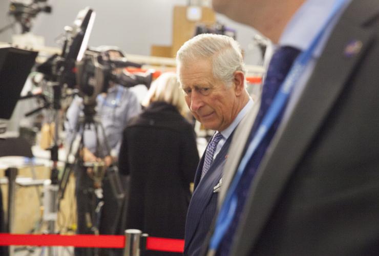 Prince Charles Mychaylo Prystupa COP21 Paris