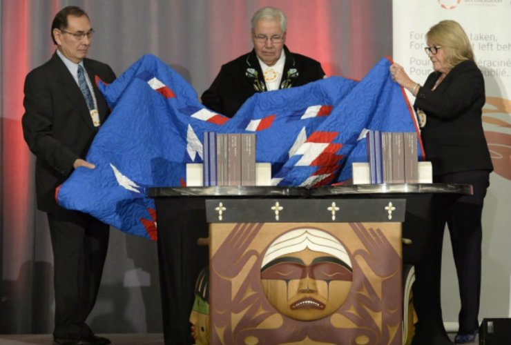 Truth and Reconciliation Committee, TRC, MMIW, Indian residential schools, Murray Sinclair, Marie Wilson, Chief Littlechild
