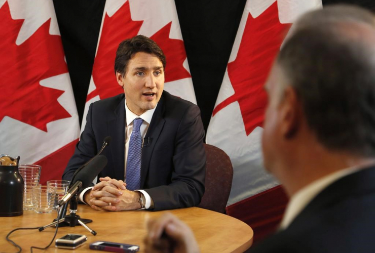 Justin Trudeau. Photo: Canadian Press