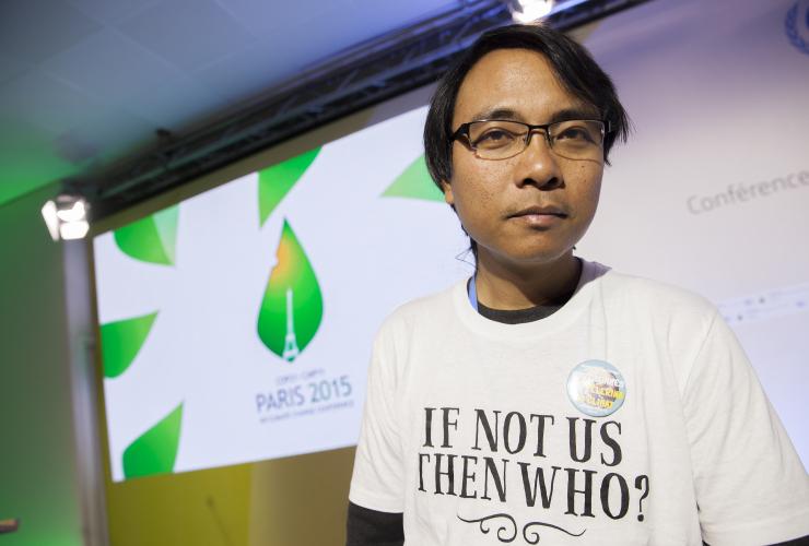Yeb Sano Paris COP21 - Mychaylo Prystupa