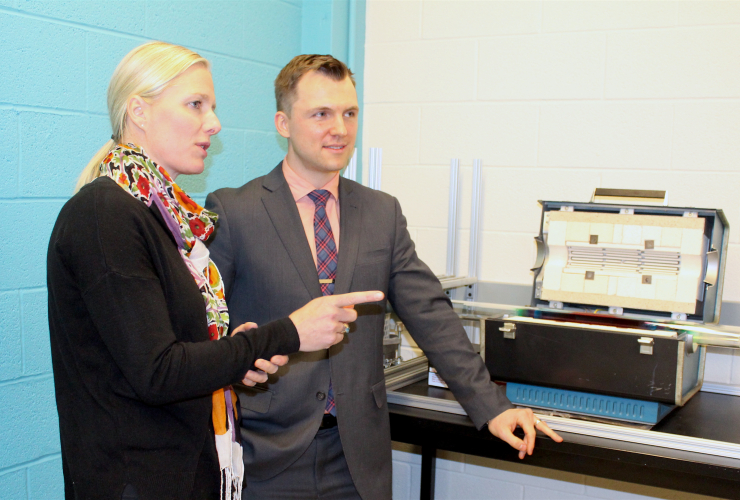Catherine McKenna, Benoit Lessard, University of Ottawa, engineering, polymers, organic