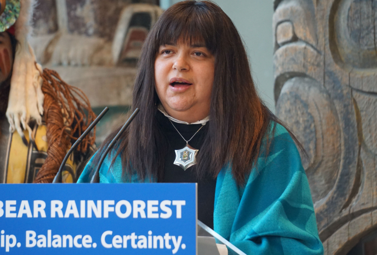 Marilyn Slett, Heiltsuk Council, Coastal First Nations, Great Bear Rainforest