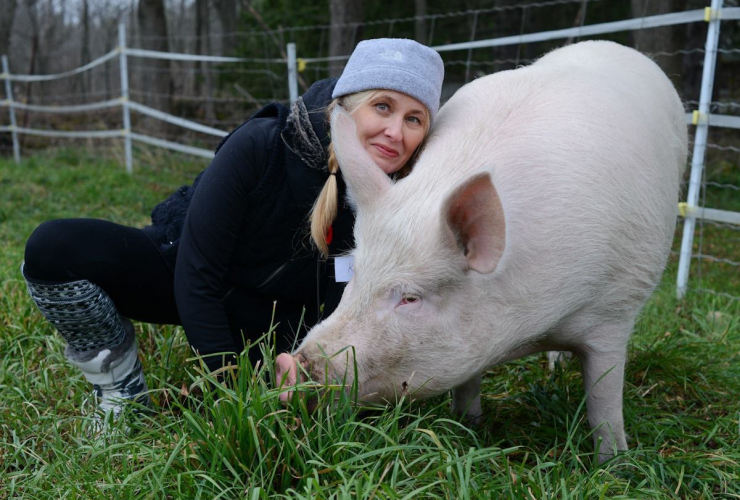 Krista Hiddema, the managing director of Mercy for Animals. Photo courtesy of Krista Hiddema