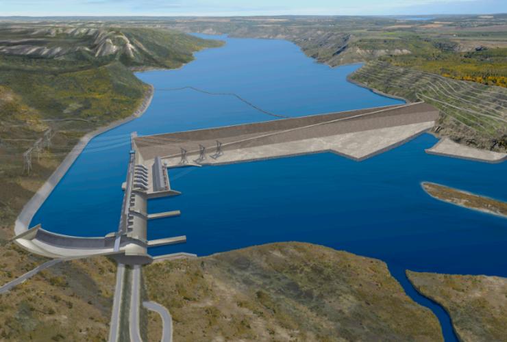 Site C Dam, BC Hydro, Peace River