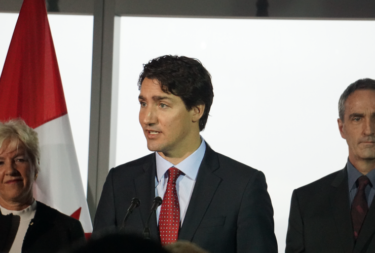 Justin Trudeau, Smart Prosperity, Globe Series, Energy East, TransCanada