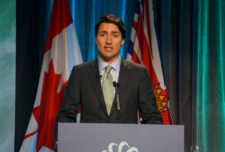 Justin Trudeau, Globe Series 2016, Energy East, Kinder Morgan, climate change