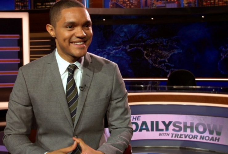 Trevor Noah, Daily Show, Justin Trudeau, Comedy Central, Washington visit