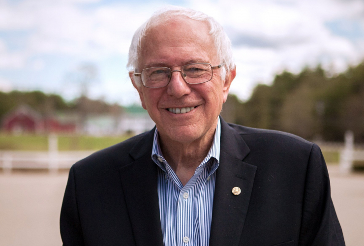 Bernie Sanders. Courtesy of the Bernie Sanders campaign