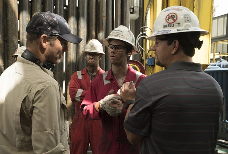 A still shot from the forthcoming film on Deepwater Horizon. Photo from Lions Gate Entertainment