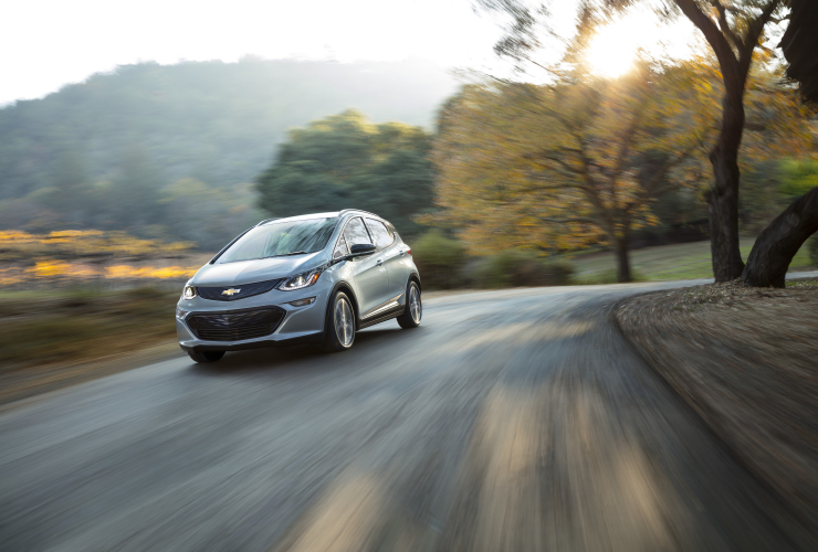 The 2017 electric Chevy Volt. Photo from General Motors