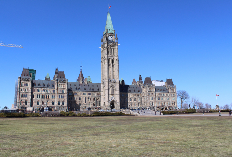 Centre Block/Peace Tower on Parliament Hill