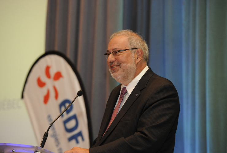 Quebec Energy Minister Pierre Arcand