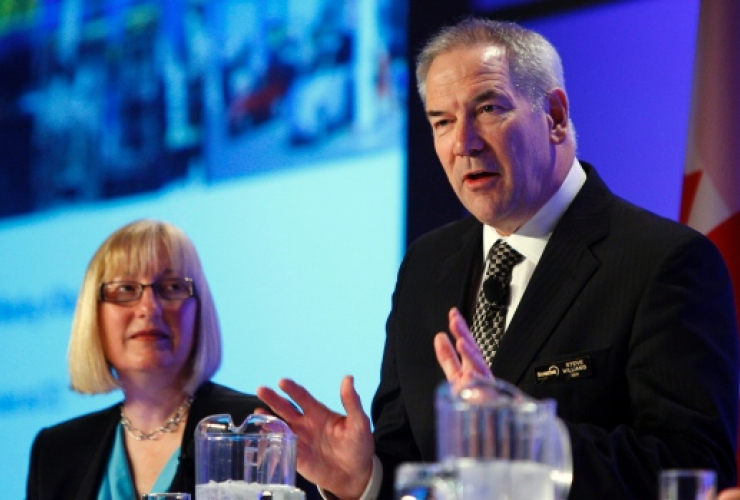 Suncor, Steve Williams, oil and gas, shareholders