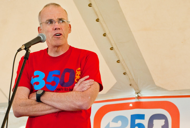 Bill McKibben. Photo from YouTube