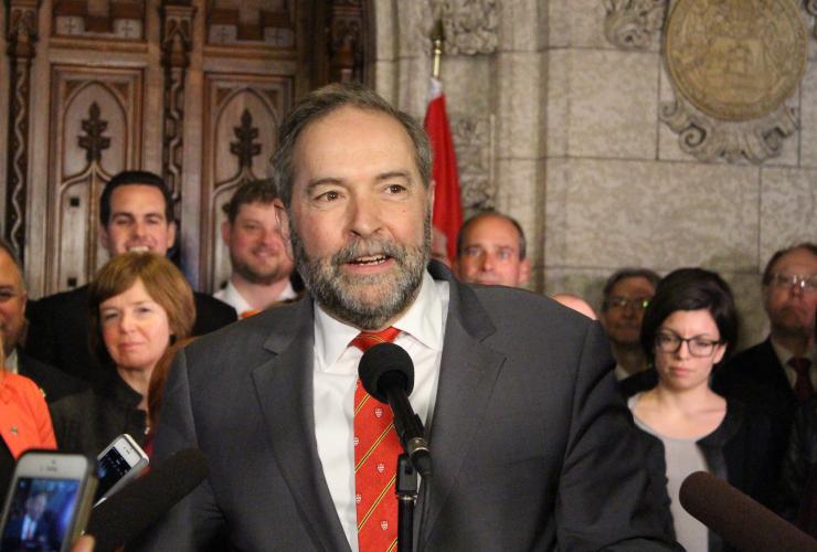 Tom Mulcair, Thomas Mulcair, New Democratic Party, NDP