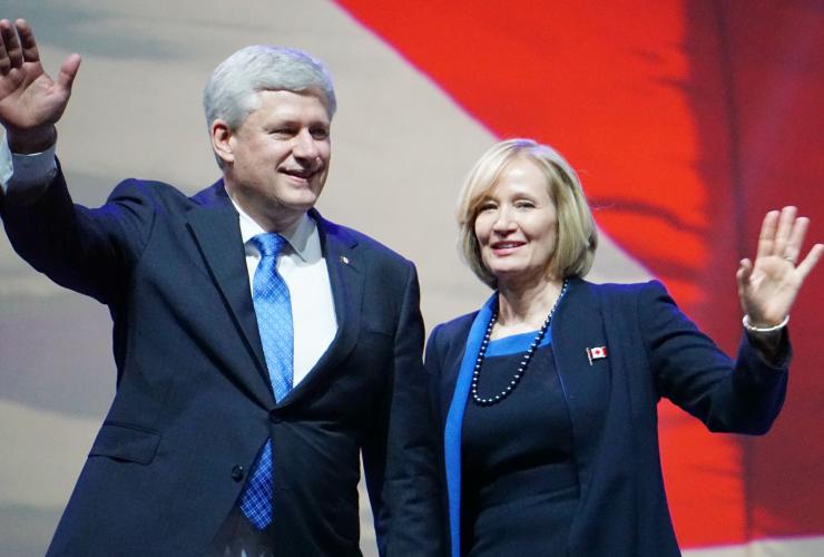 Stephen Harper, Laureen Harper, Conservative Convention, Vancouver