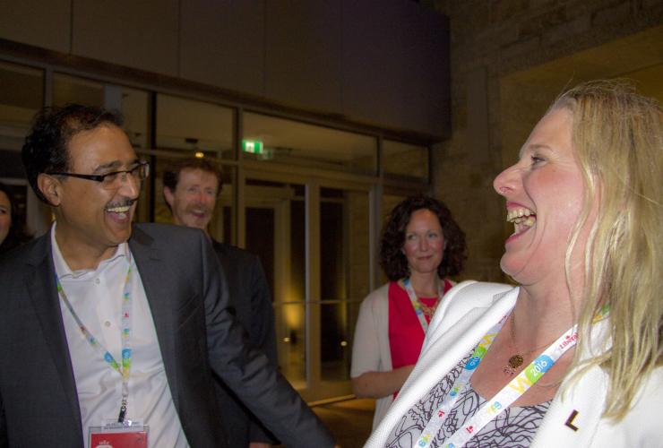 Federal Ministers, Amarjeet Sohi, Catherine McKenna