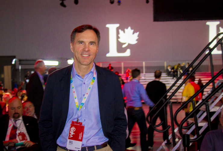 Bill Morneau, Finance, Liberal Party of Canada