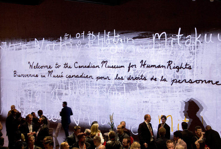 Canadian Museum of Human Rights, Liberal Party of Canada convention, 2016, Winnipeg