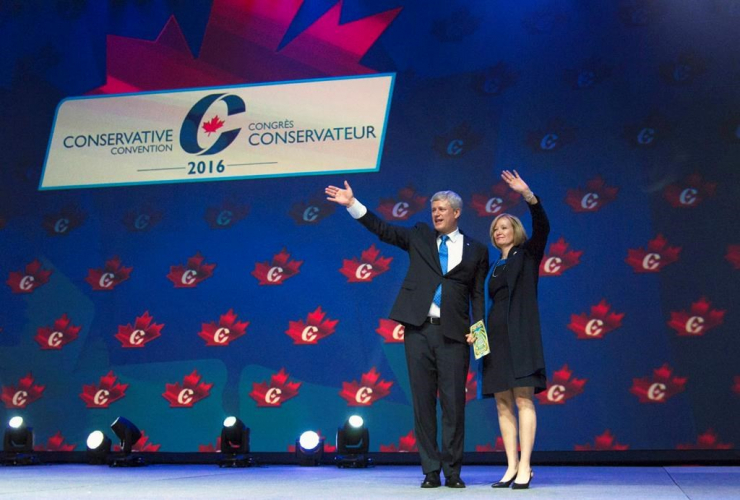 Laureen Harper, Stephen Harper, Conservative Party of Canada, Sophie Grégoire Trudeau