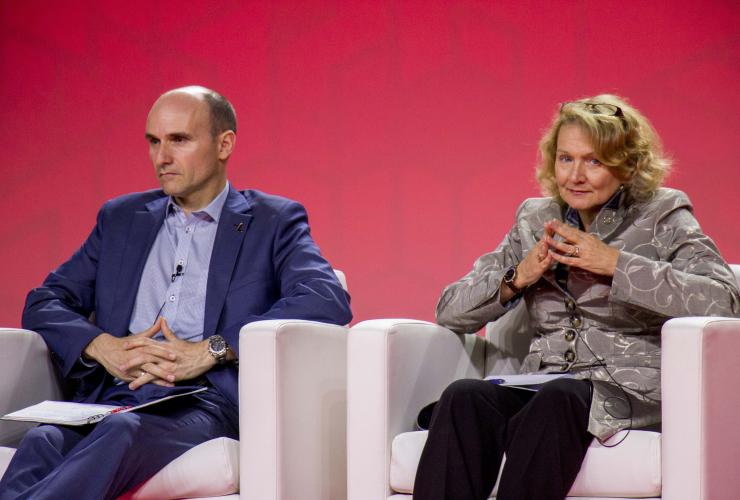 Jean-Yves Duclos, Karen McCrimmon, Liberals, Winnipeg