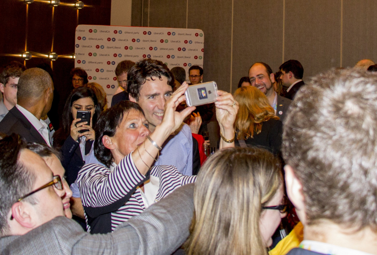 Justin Trudeau, Liberal Party of Canada, Winnipeg, 2016, convention
