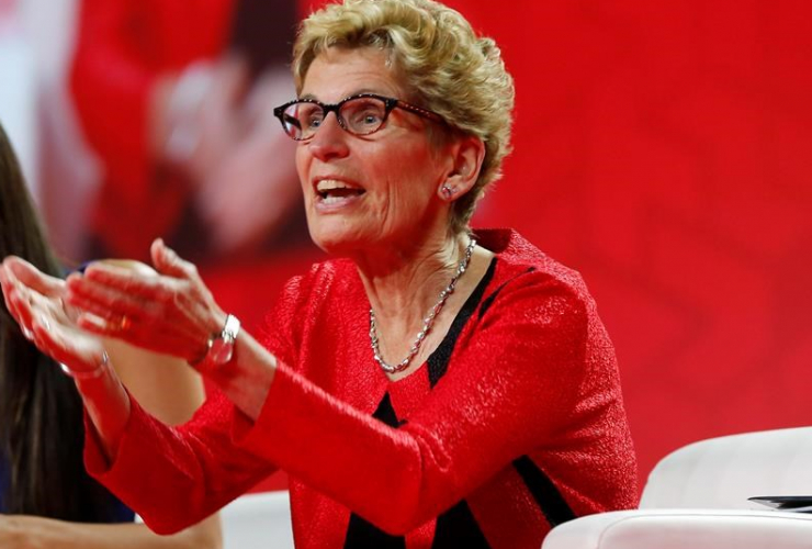 Kathleen Wynne, Liberals, Winnipeg, 2016