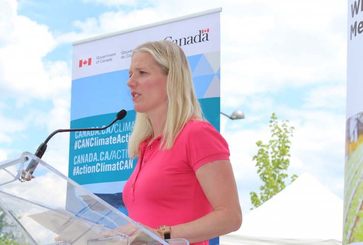 Climate Change is Here, Alex Benay, Catherine McKenna, Canada Science and Technology Museums Corporation