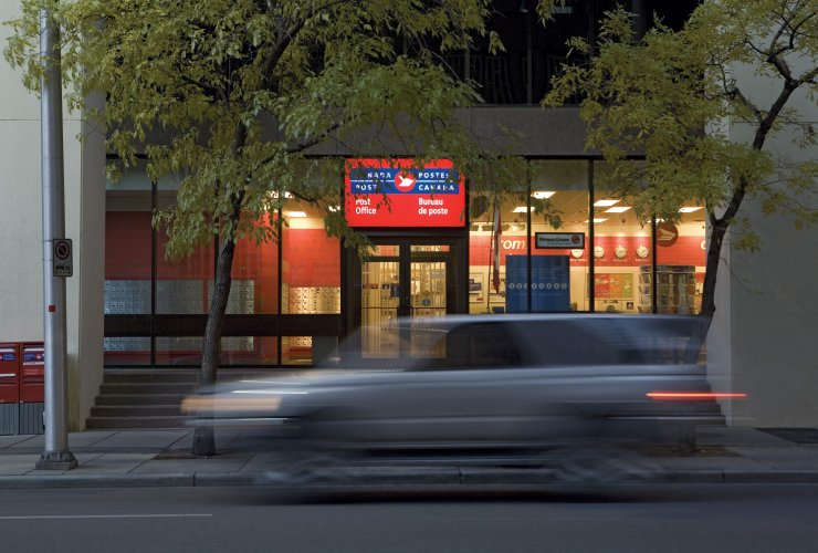Canada Post outlet. Photo by Canada Post