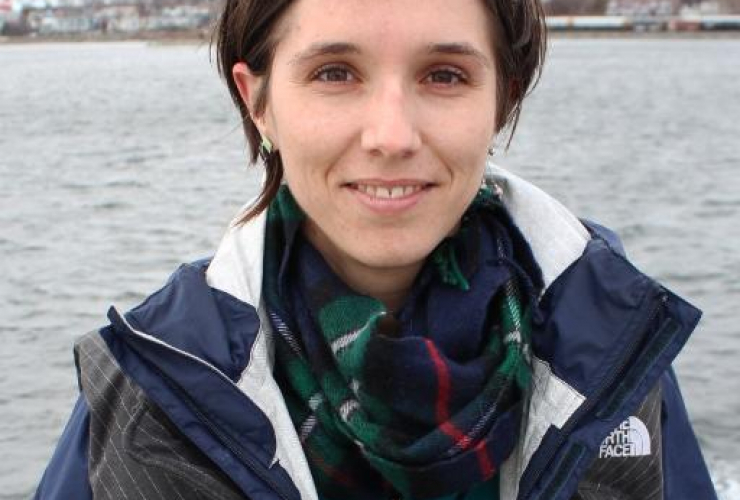Nova Scotia Green Party interim leader Brynn Nheiley. Photo from Twitter