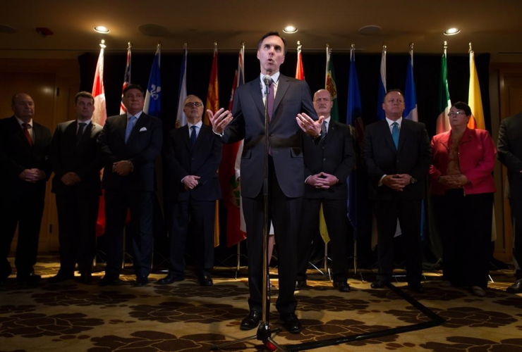 Bill Morneau, CPP, finance ministers, Vancouver