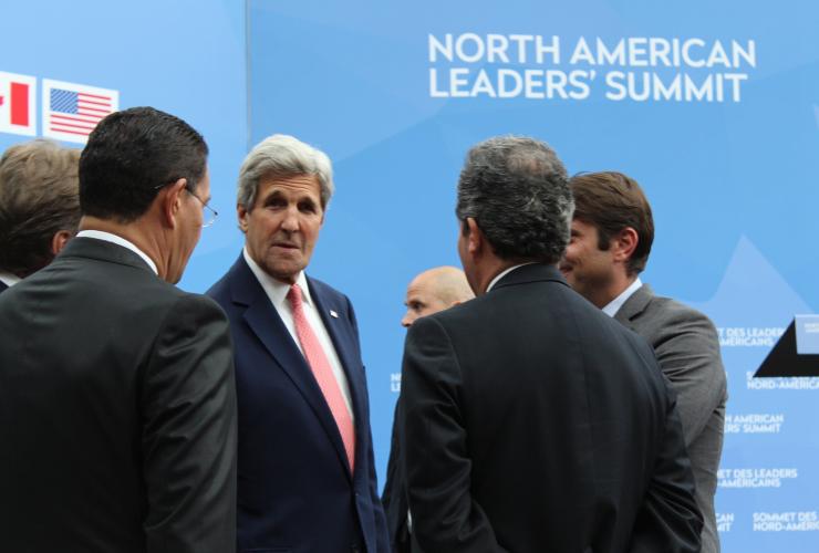 Amigos, Barack Obama, Nieto, Trudeau, Mexico, Canada, United States