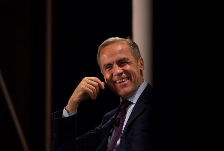 Mark Carney, Bank of England, World Economic Forum, Switzerland, Toronto, climate change