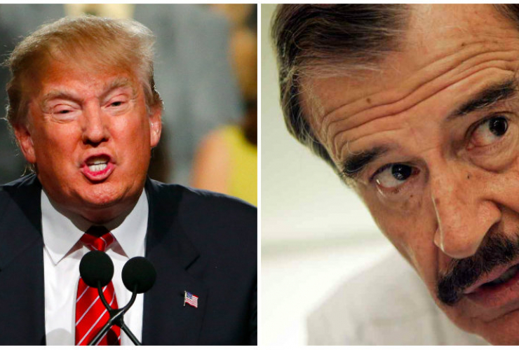 Donald Trump, Vicente Fox, Mexico, build a wall, GOP