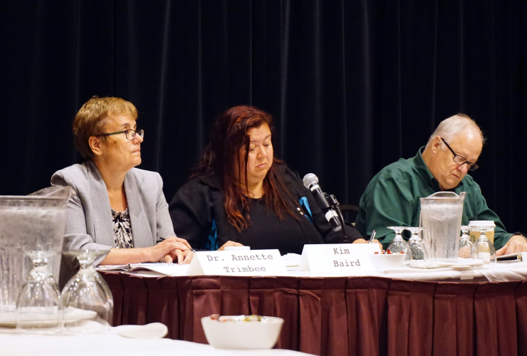 TMX panel, Kim Baird, Trans Mountain expansion, Kinder Morgan