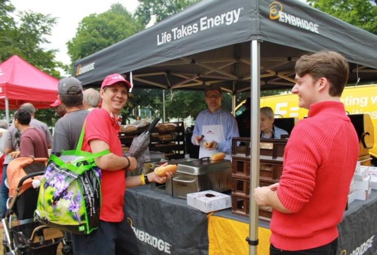 Enbridge, Carolyn Bennett, Canada Day, barbecue, BBQ, lobbying, conflict of interest