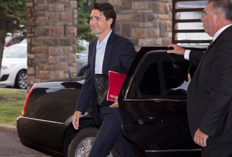 Justin Trudeau, Liberal Party of Canada, Saguenay, climate change, Quebec, middle class