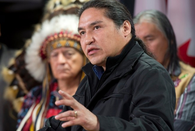 Chief Allan Adam, Athabasca Chipewyan First Nation, Grand Rapids pipeline