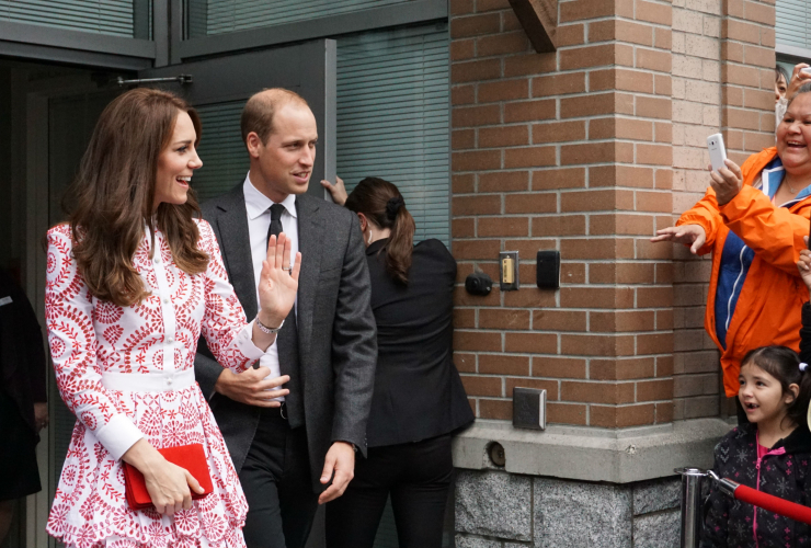 Royal couple, Royal Tour, Sheway Vancouver, Will and Kate