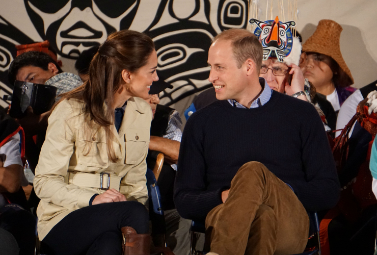 Will and Kate, royal couple, Duke and Duchess of Cambridge, Great Bear Rainforest, Bella Bella, Heiltsuk First Nation