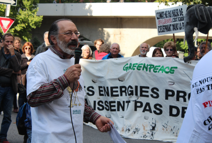 André Bélisle, AQLPA, climate change, Energy East, pipelines
