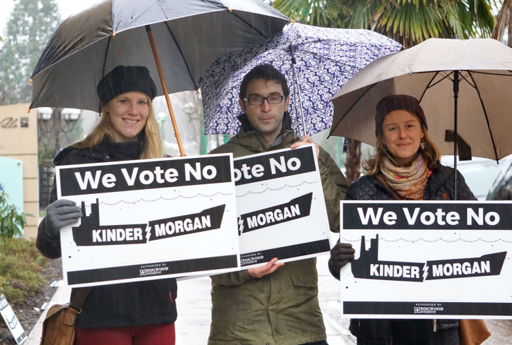 Trans Mountain, Kinder Morgan, millennials