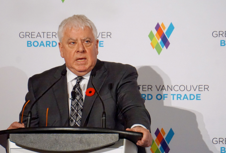 Ian Anderson, Kinder Morgan Canada, Vancouver Board of Trade, Trans Mountain expansion