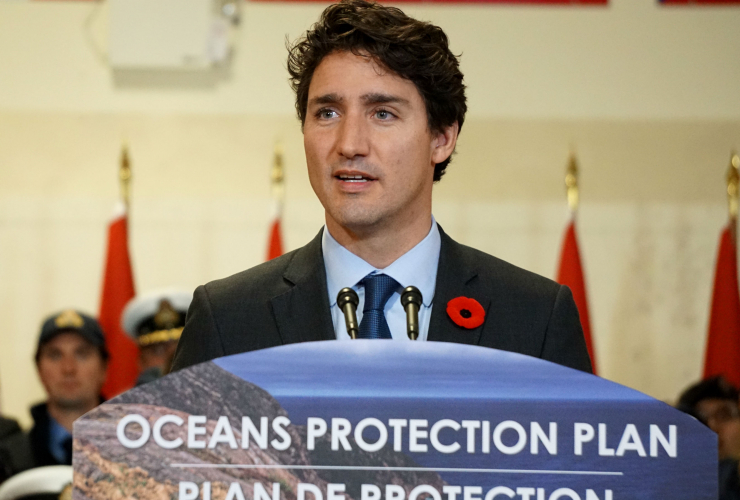 Justin Trudeau, Vancouver, National Oceans Protection Plan