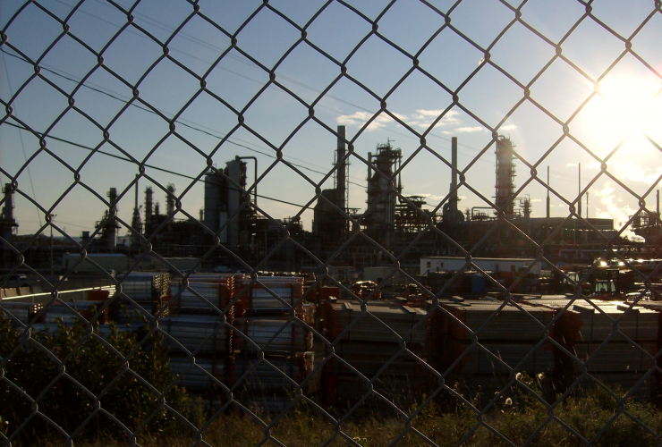 Irving Oil refiner in an image from Wikimedia