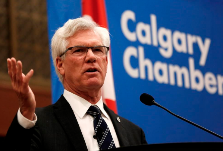 Jim Carr, Calgary, pipelines, Chamber of Commerce, Alberta,