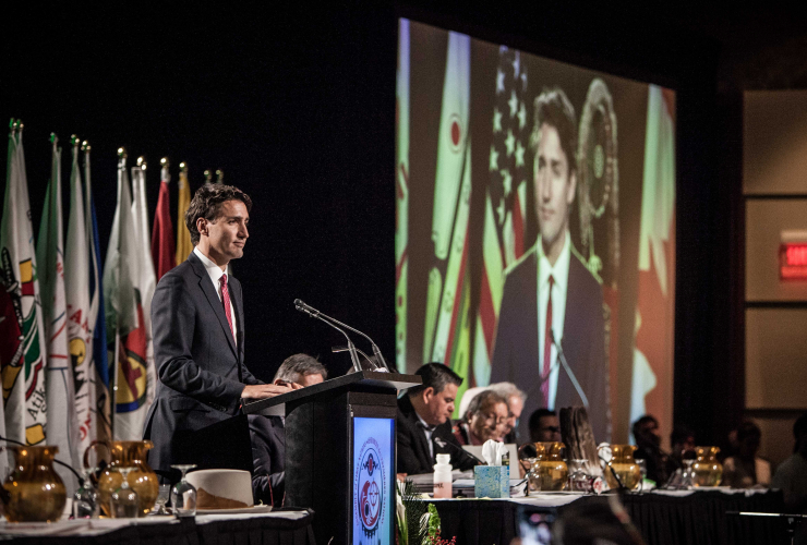 Justin Trudeau, foreign aid, climate change