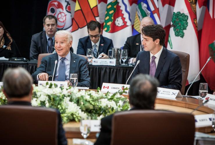 Joe Biden, Justin Trudeau, climate change, Canada, Ottawa, first ministers